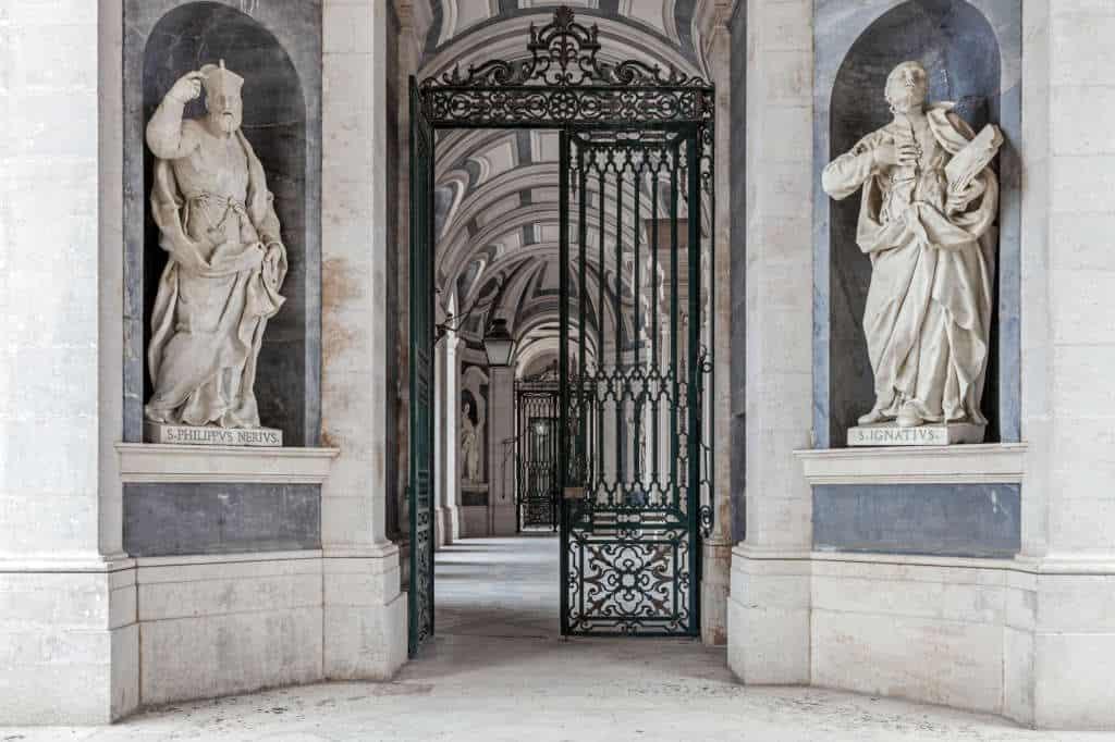 Rzeźba św. Filipa w Mafrze