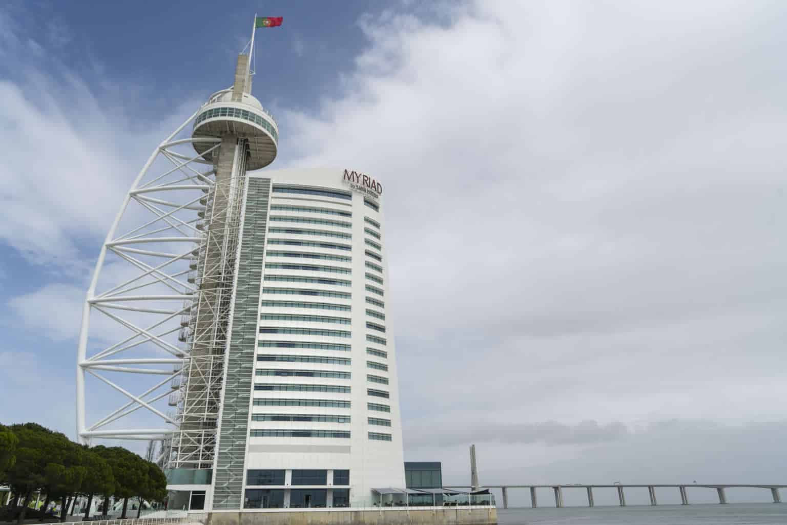 wieża Vasco da Gama