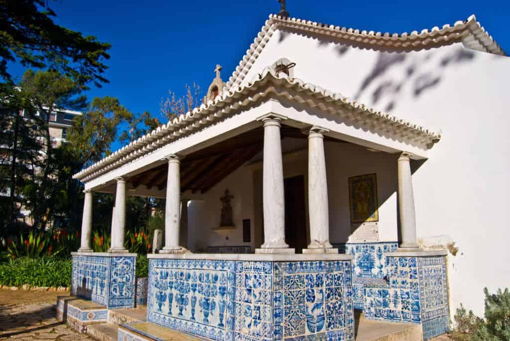 azulejos - palac w Cascais