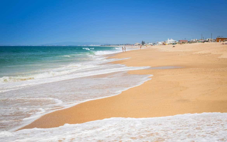 plaża w Faro