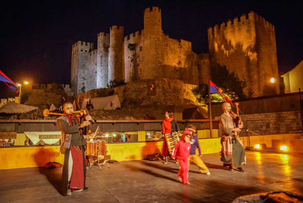 średniowieczny festiwal Obidos