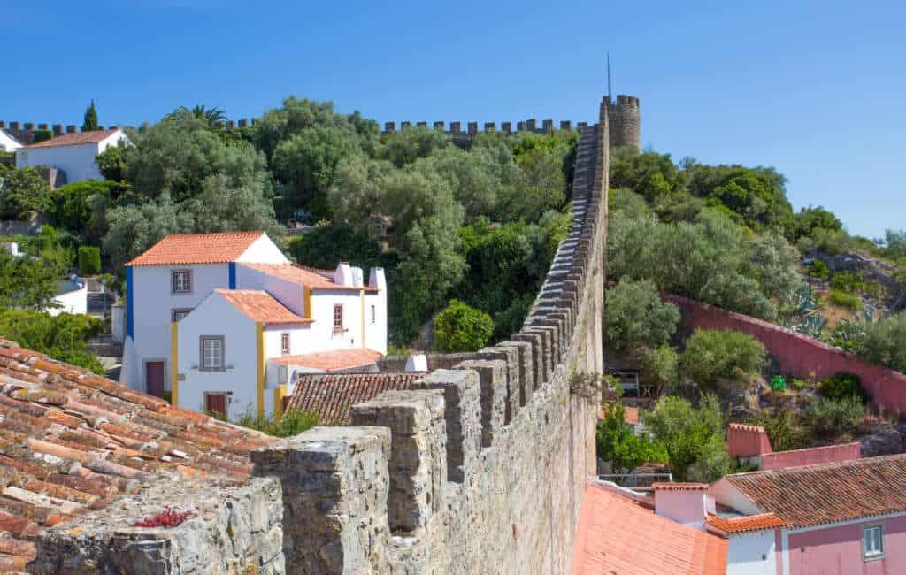 mur w Obidos