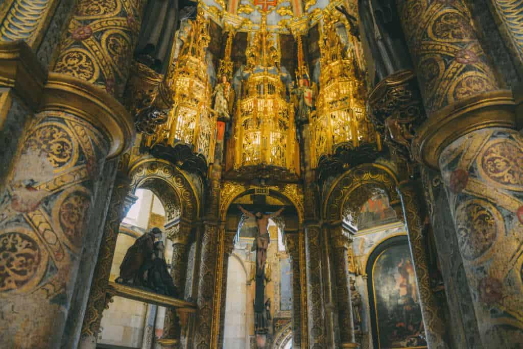 nawa manuelińska w klasztorze w Tomar
