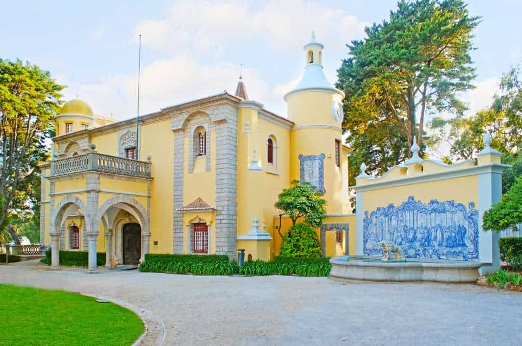 palac Condes de Castro w Cascais