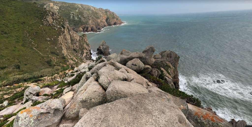 zejście cabo da Roca