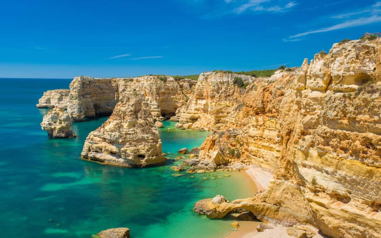 praia marinha w Algarve
