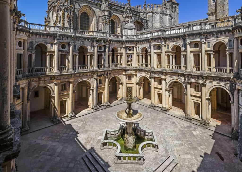 krużganek Jana III Tomar