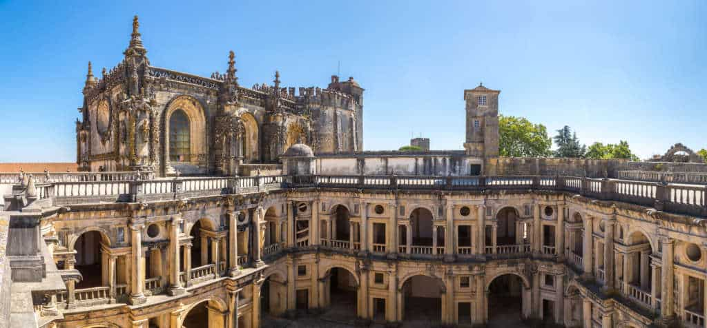 zamek Tomar Portugalia
