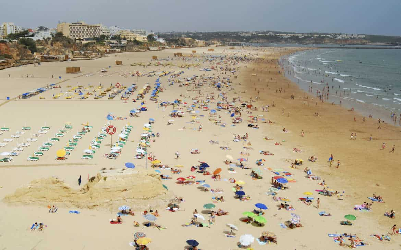 praia da rocha w Portimao