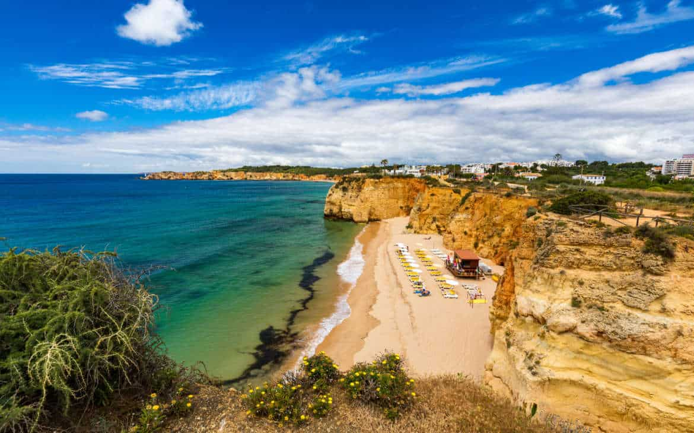 Portimao - sardynki i piękna praia da Rocha