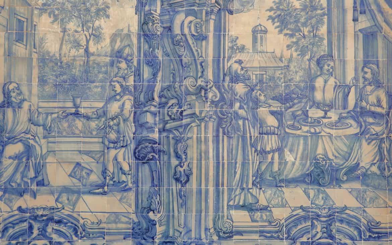 azulejos w Tavirze