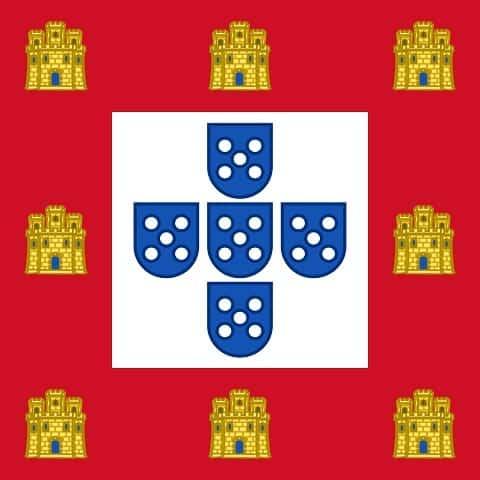 flaga Portugalii 1485