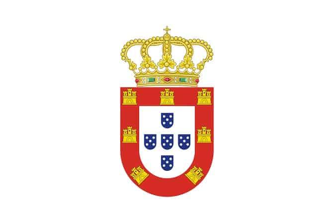 flaga Portugalii 1667