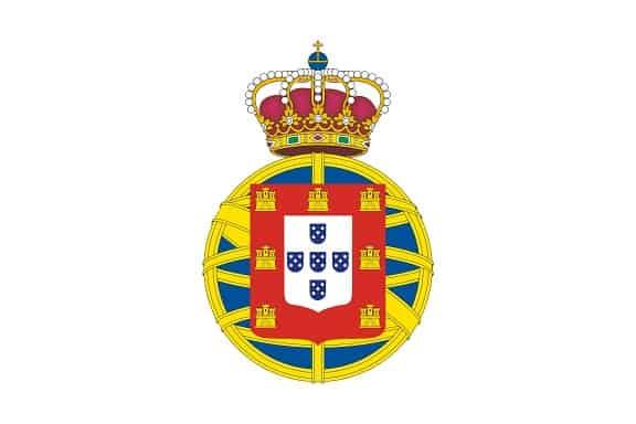 flaga Portugalii amilarna