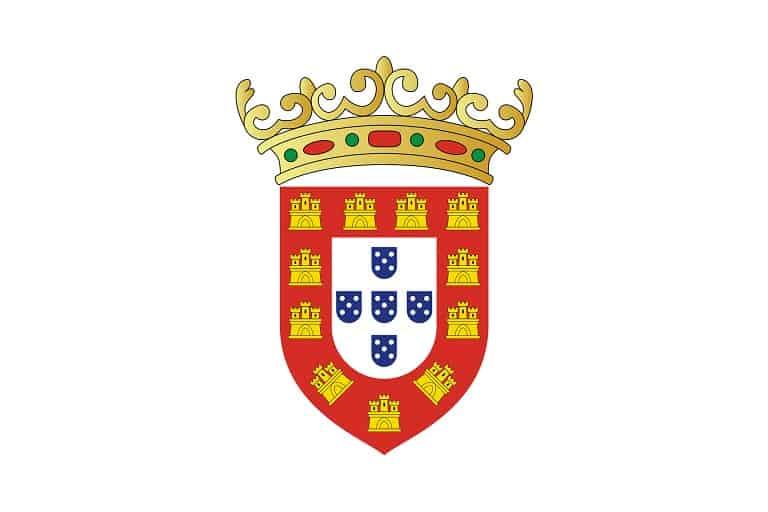 flaga portugalii 1495–1667