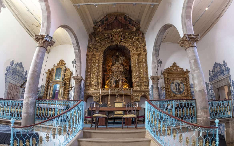 kościół Tavira ołtarz