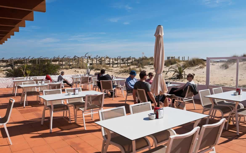 plaża barril restauracja
