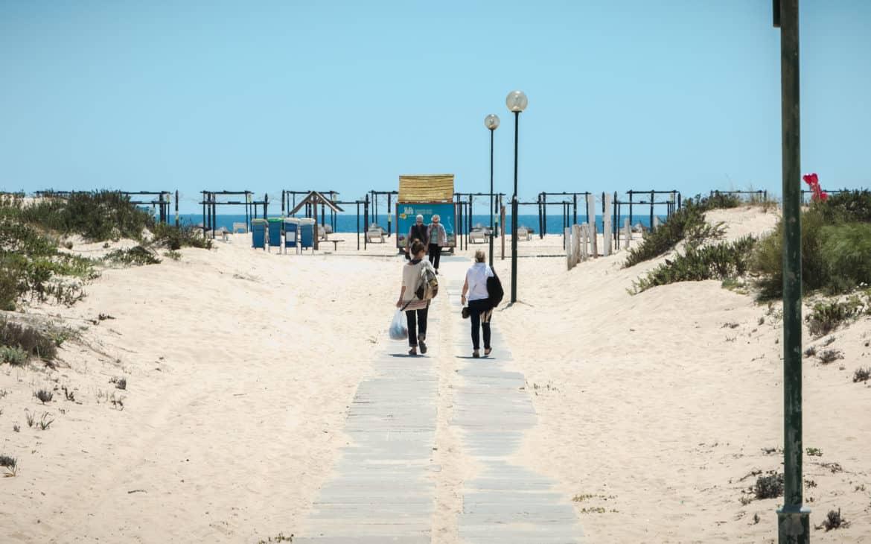 plaża Tavira