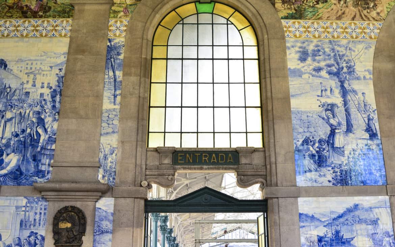 kafelki azulejos Sao Bento