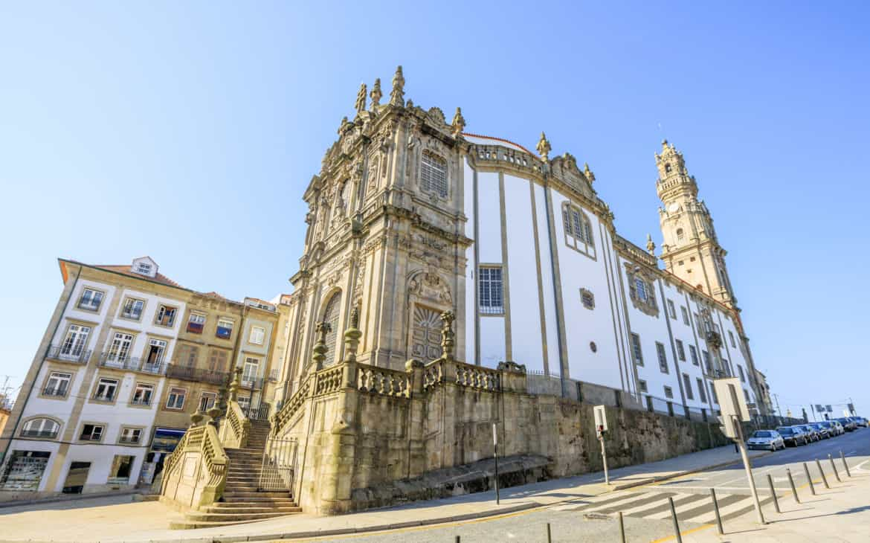 kościoł i wieża kleryków