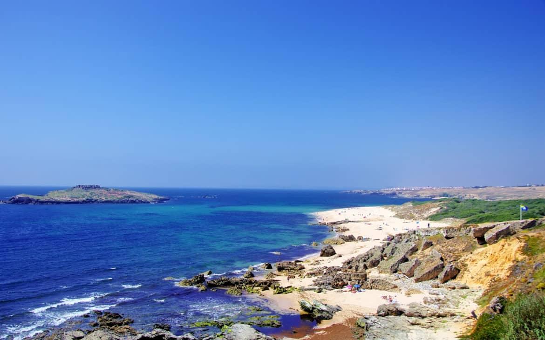 krajobraz, plaże Porto Covo