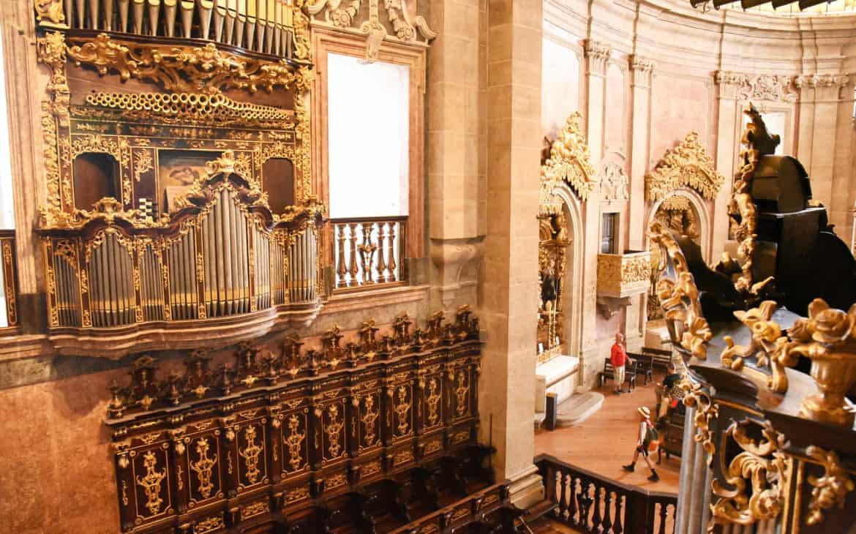 organy w kościele Kleryków