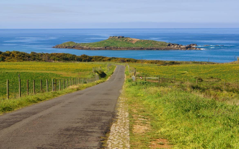 zachodnie Alentejo, ocean i widok
