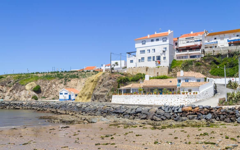widok na Porto Covo