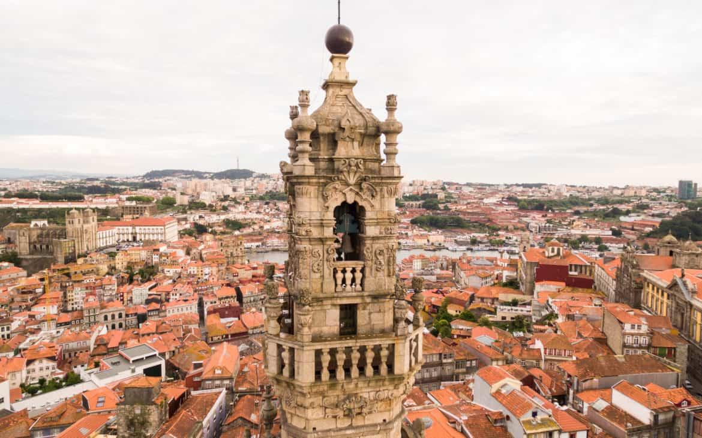 wieża kleryków porto