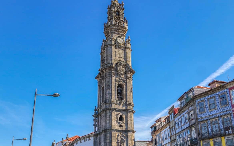 wieża kleryków w Porto