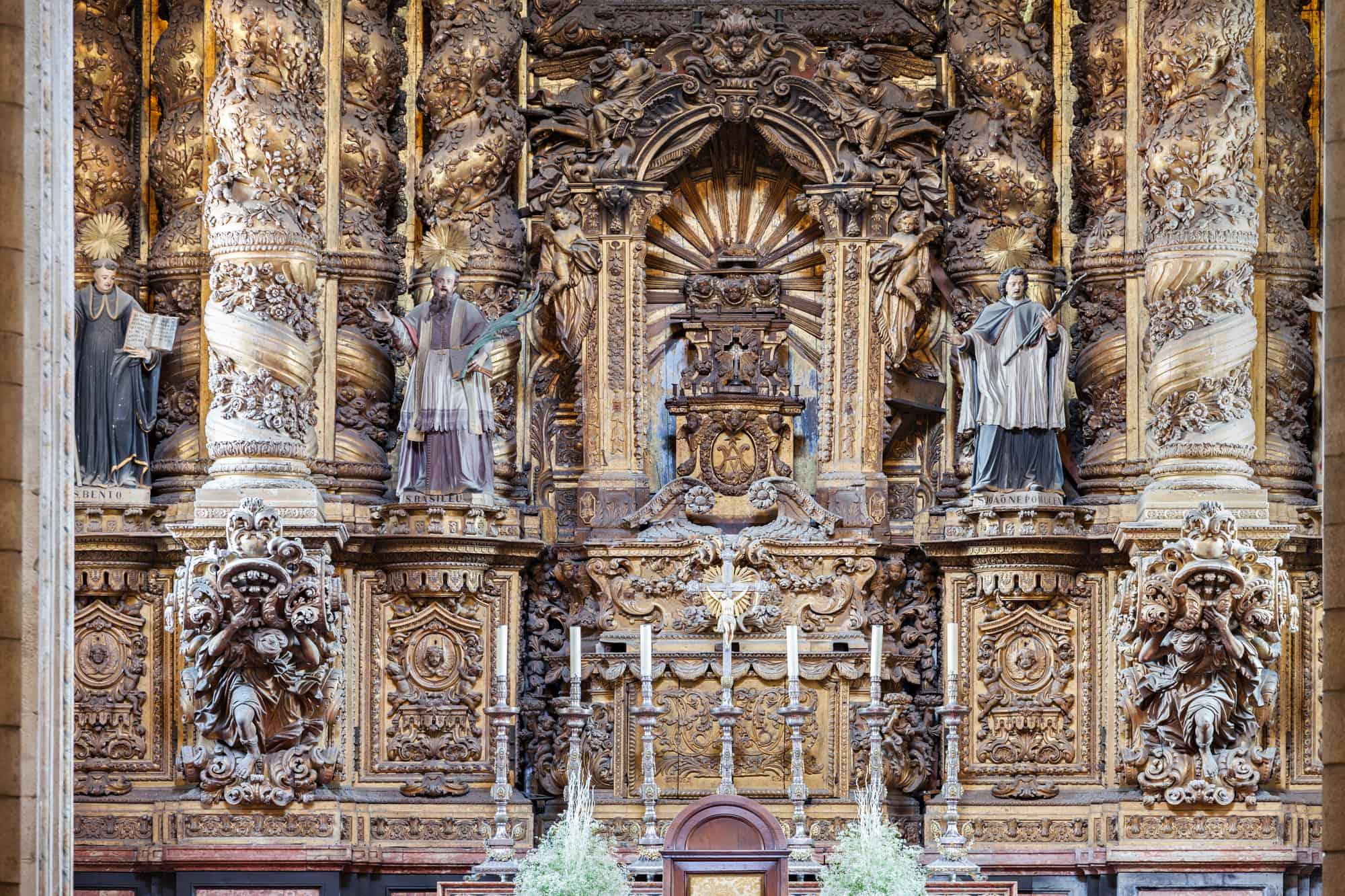 oltarz Katedra Se w Porto