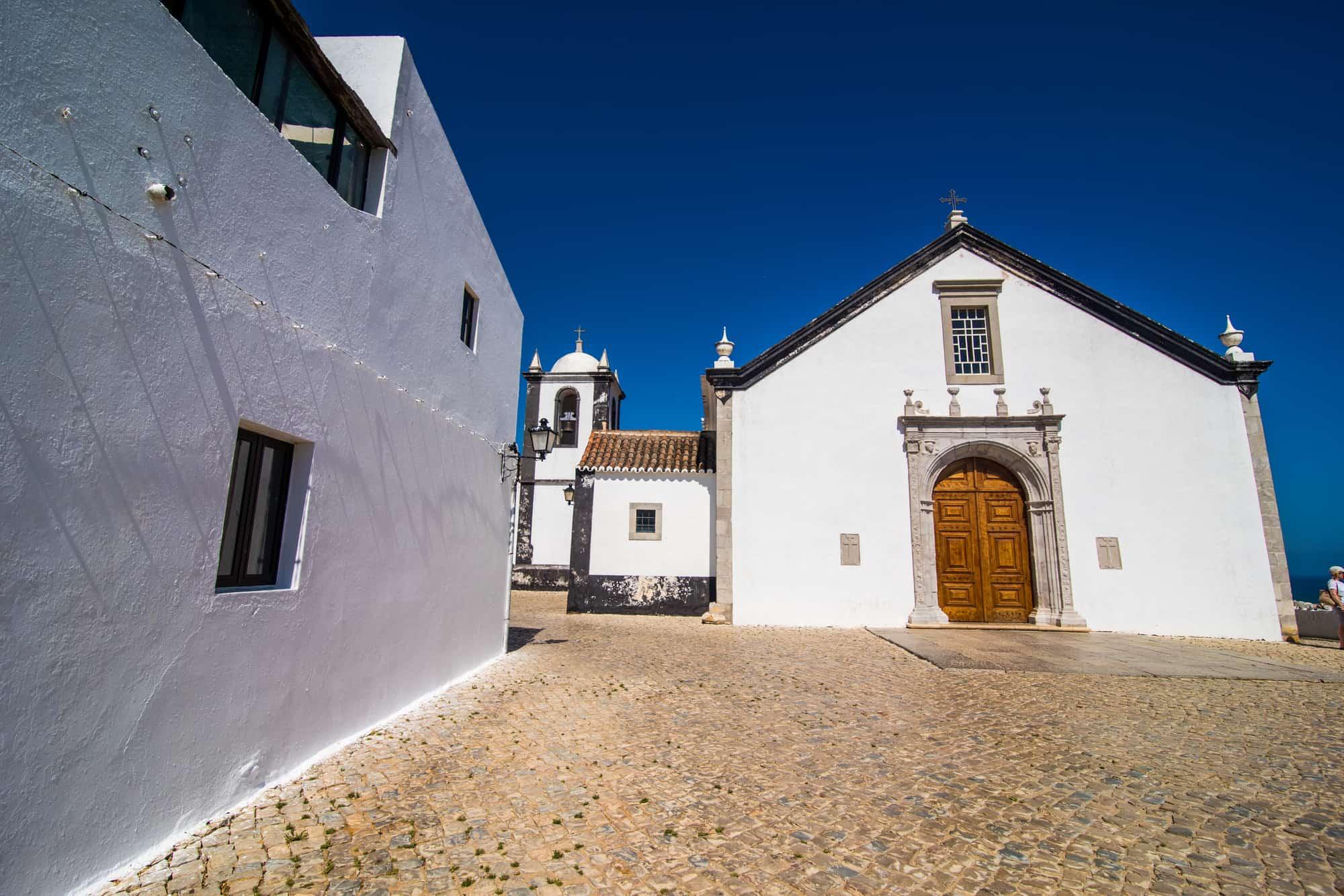 kościół w Cacela Velha, Algarve