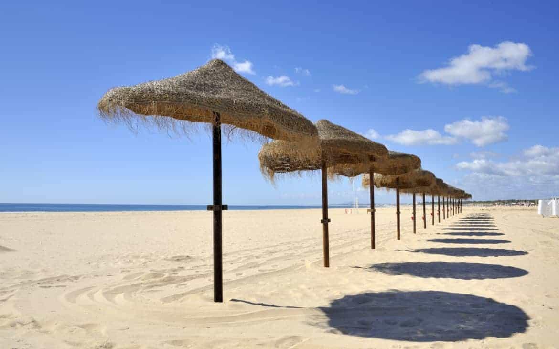 Plaża w Monte Gordo