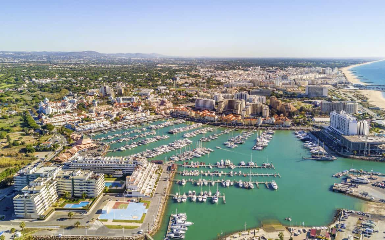 Vilamoura - turystyczny resort w Algarve