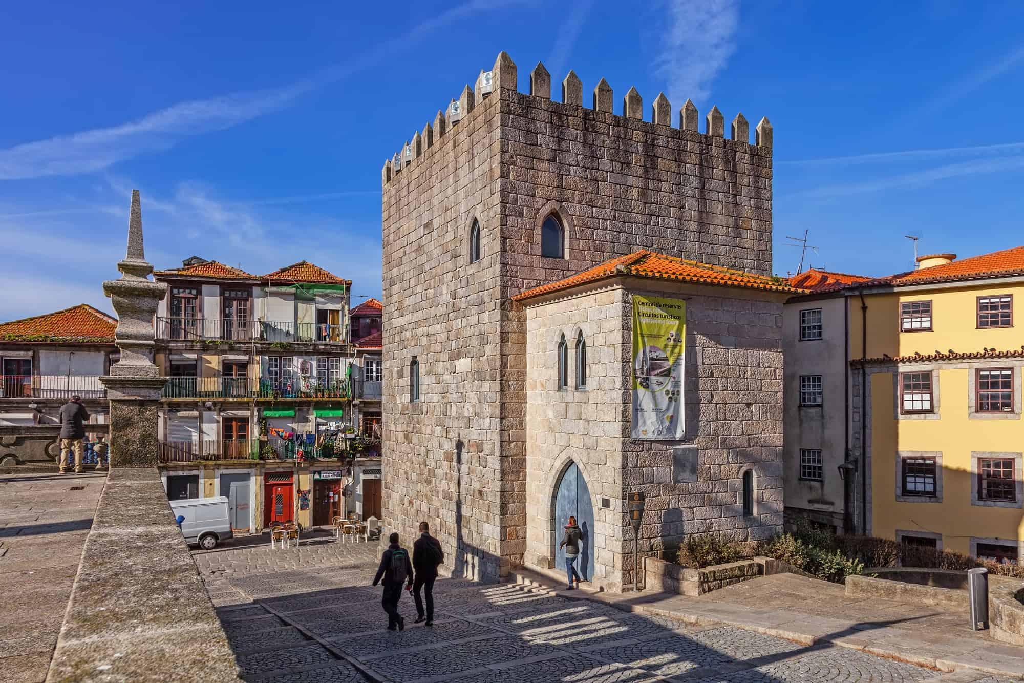 wieża dom Pedro Porto
