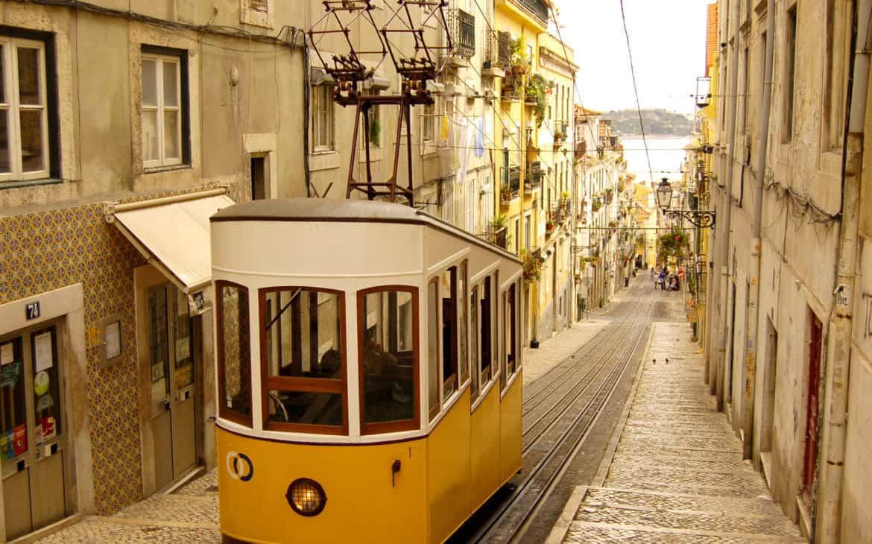 Winda Bica w Lizbonie