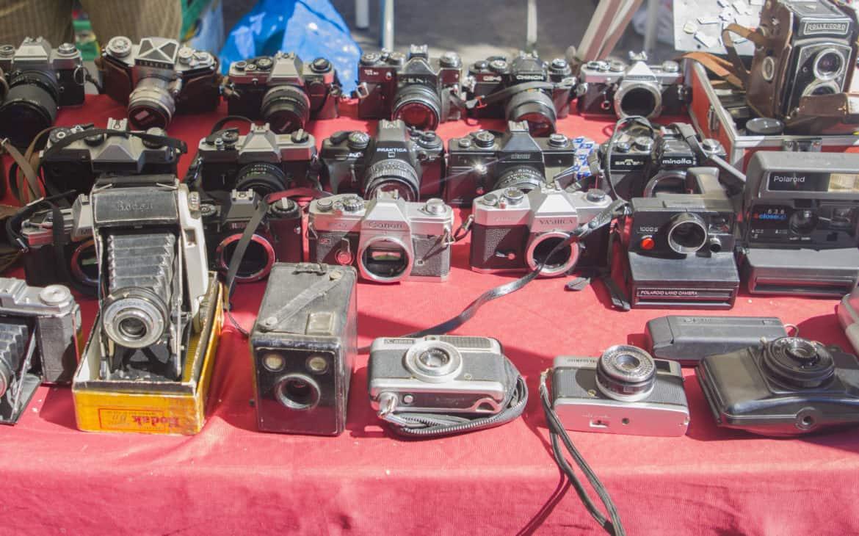 aparaty wystawione na sprzedaż
