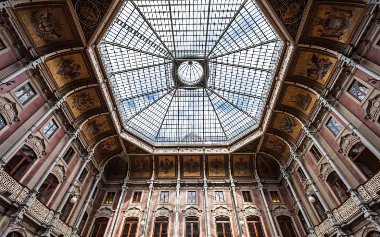 hall w pałacu Giełdy