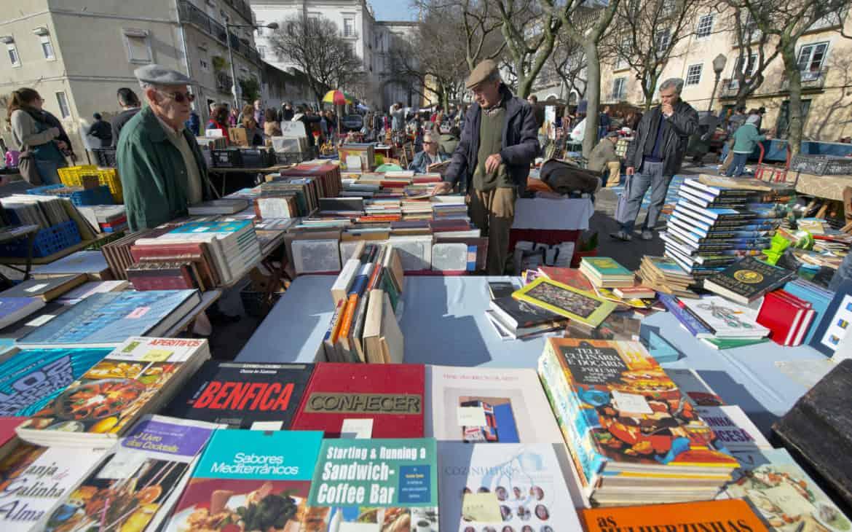 książki na pchlim targu