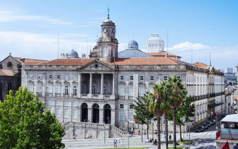pałac Giełdy w Porto