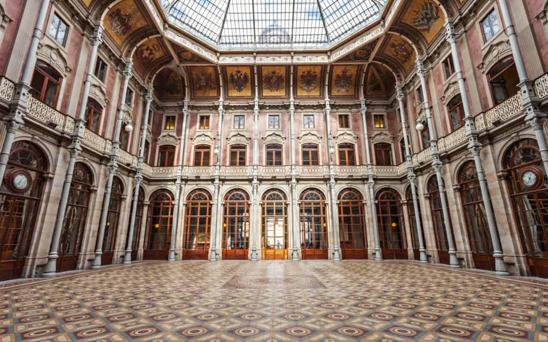 Hall w pałacu Bolsa