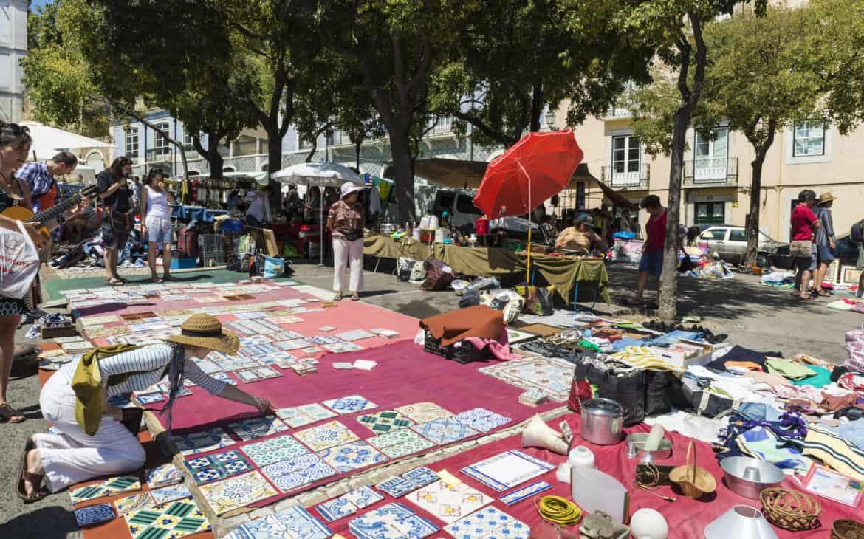 pchli targ Lizbona