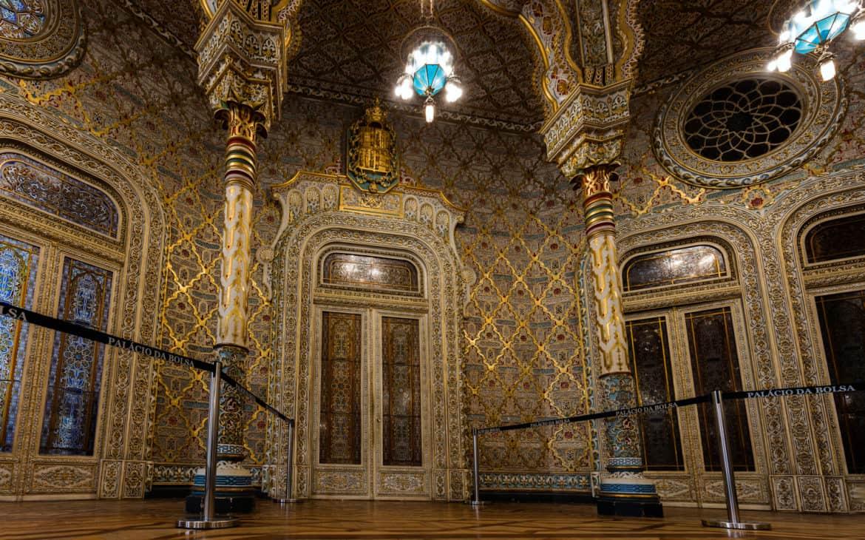 pokó arabski w pałacu Bolsa