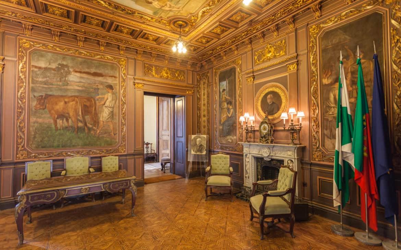 pokój prezydencki w pałacu Giełdy