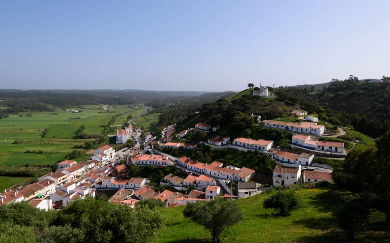 panorama widok na Aljezur