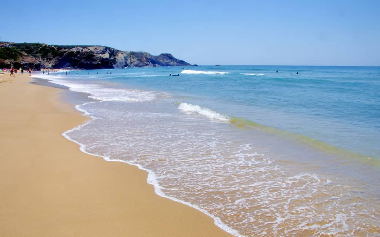 plaża w Odeceixe
